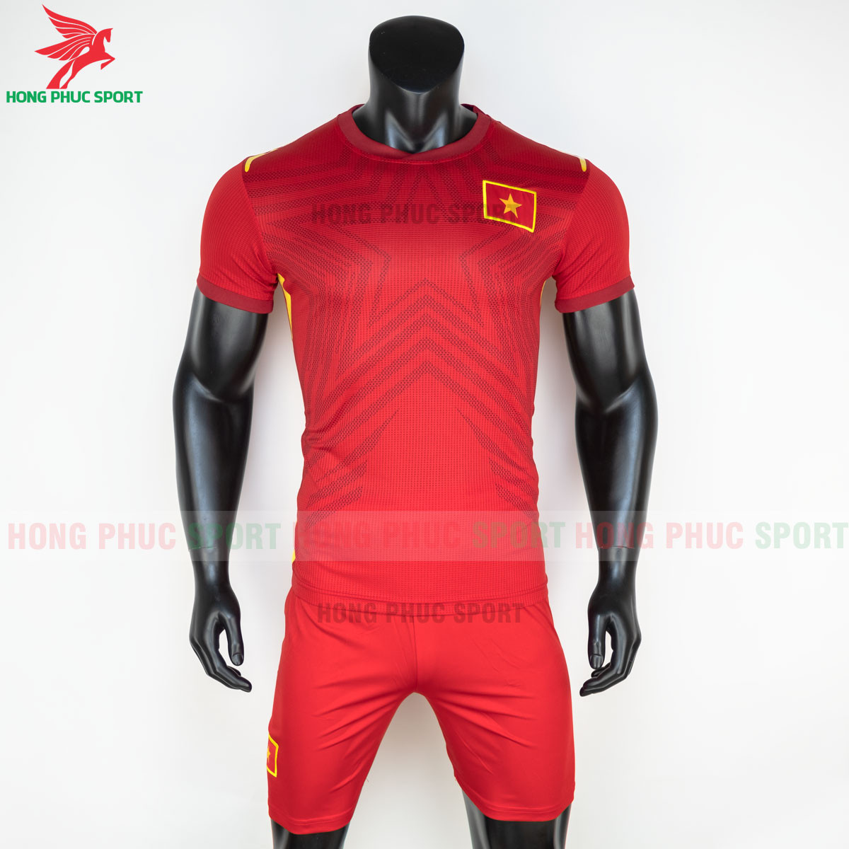 Áo đấu tuyển Việt Nam 2021 sân nhà (trước)