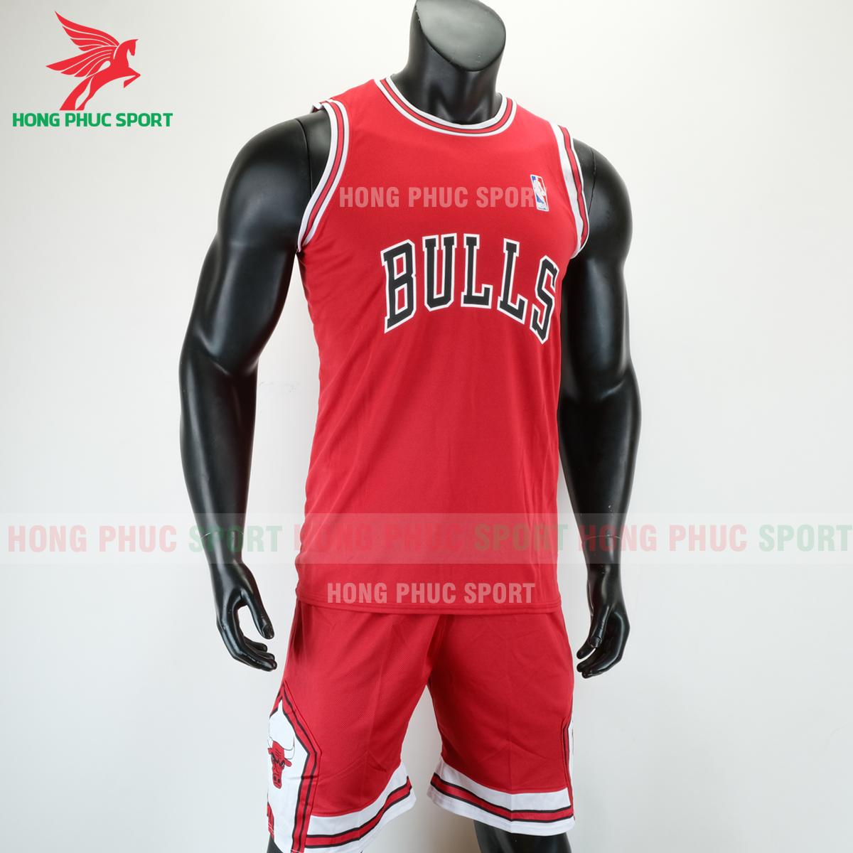 Áo bóng rổ Bulls 2020 màu đỏ (phải)