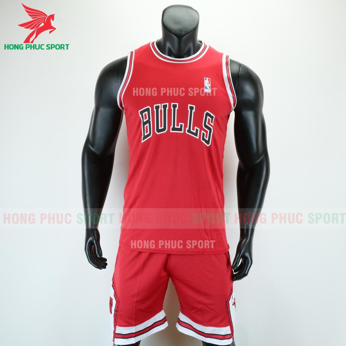 Áo bóng rổ Bulls 2020 màu đỏ (trước)