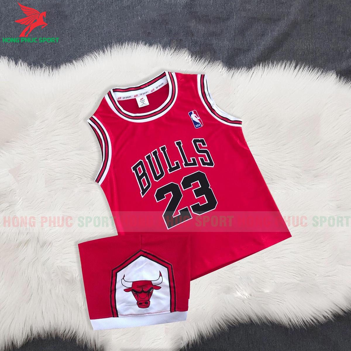 Áo bóng rổ trẻ em Bulls 2020 màu đỏ