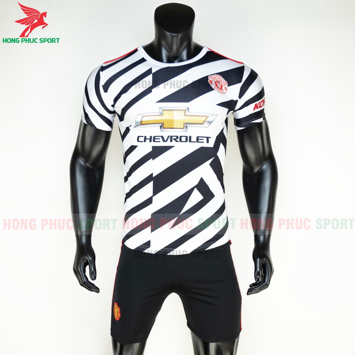 Áo bóng đá Manchester United2020 2021 mẫu thứ 3 mẫu 2 (trước)