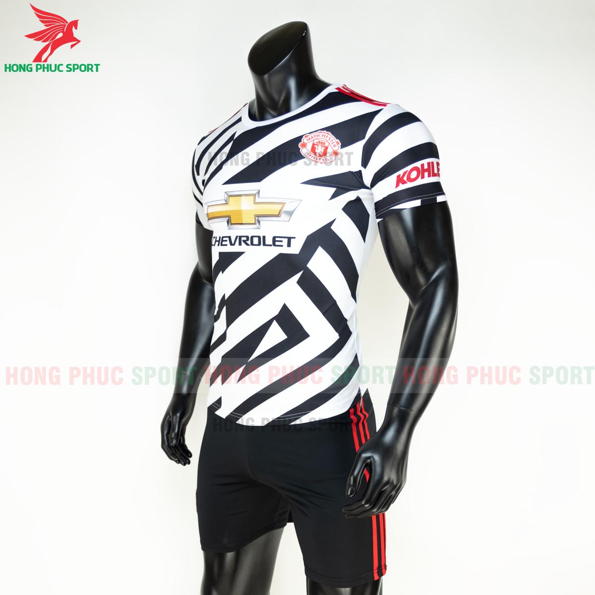 Áo bóng đá Manchester United2020 2021 mẫu thứ 3 mẫu 2 (trái)