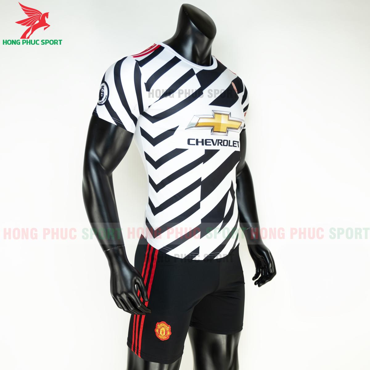 Áo bóng đá Manchester United2020 2021 mẫu thứ 3 mẫu 2 (phải)