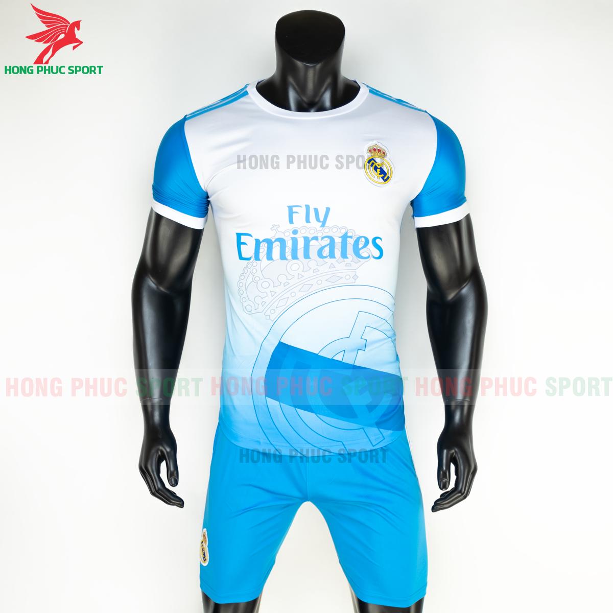 Áo bóng đá Real Madrid 2020 2021 phiên bản fan 9 (trước)