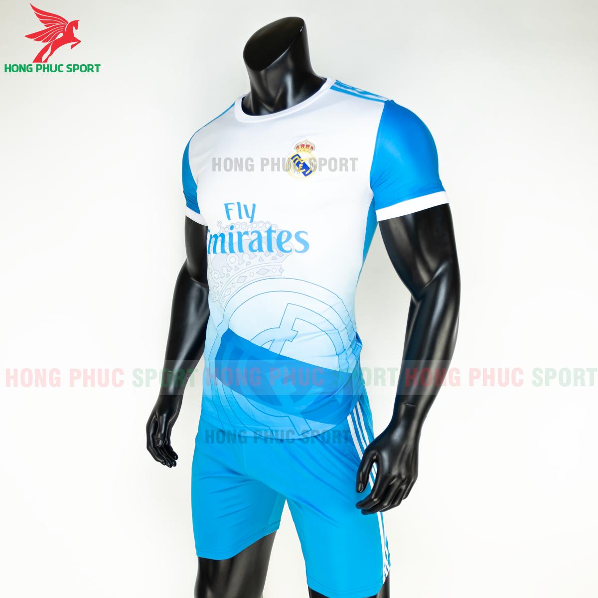 Áo bóng đá Real Madrid 2020 2021 phiên bản fan 9 (trái)