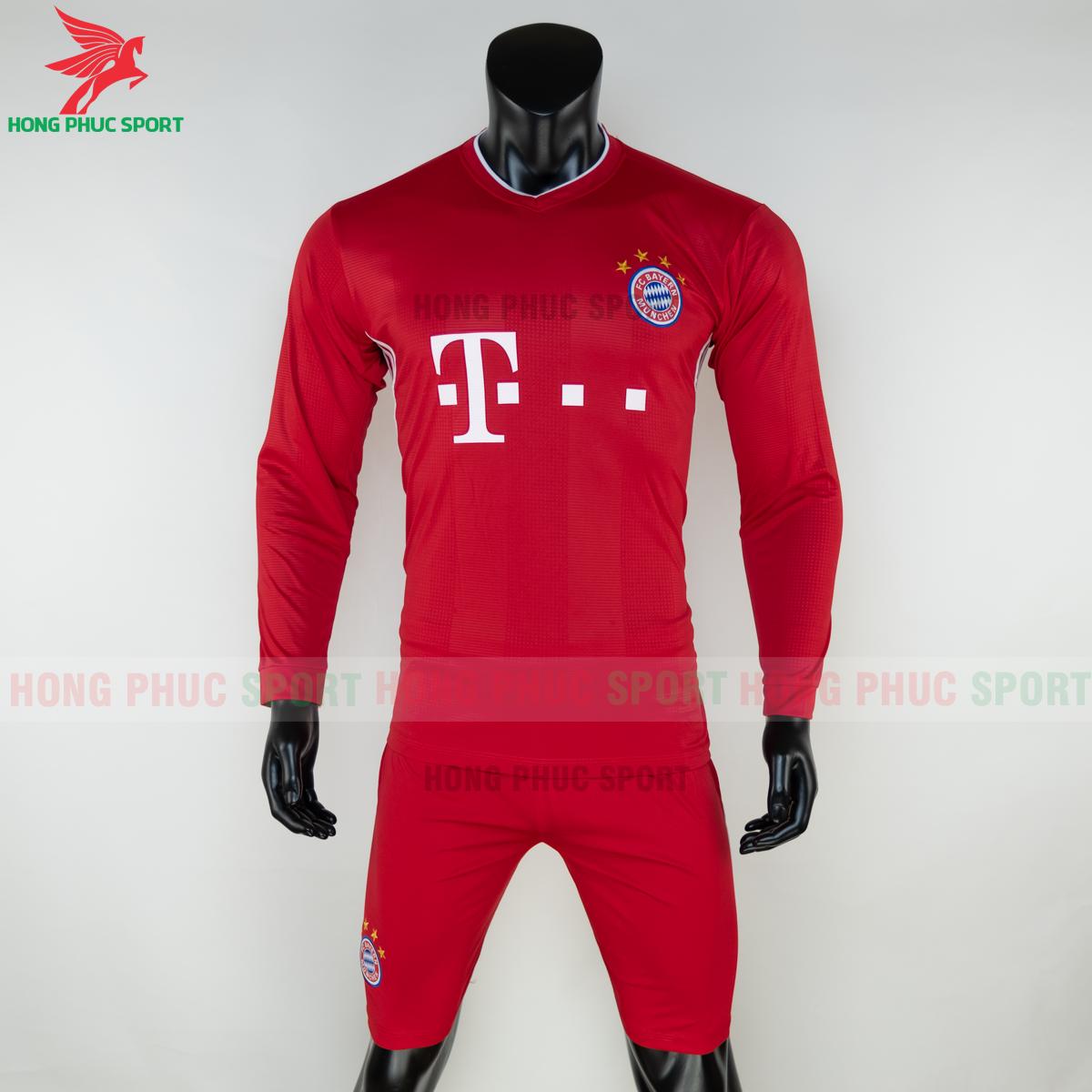 Áo đấu dài tay Bayern Munich 2020 2021 sân nhà (trước)