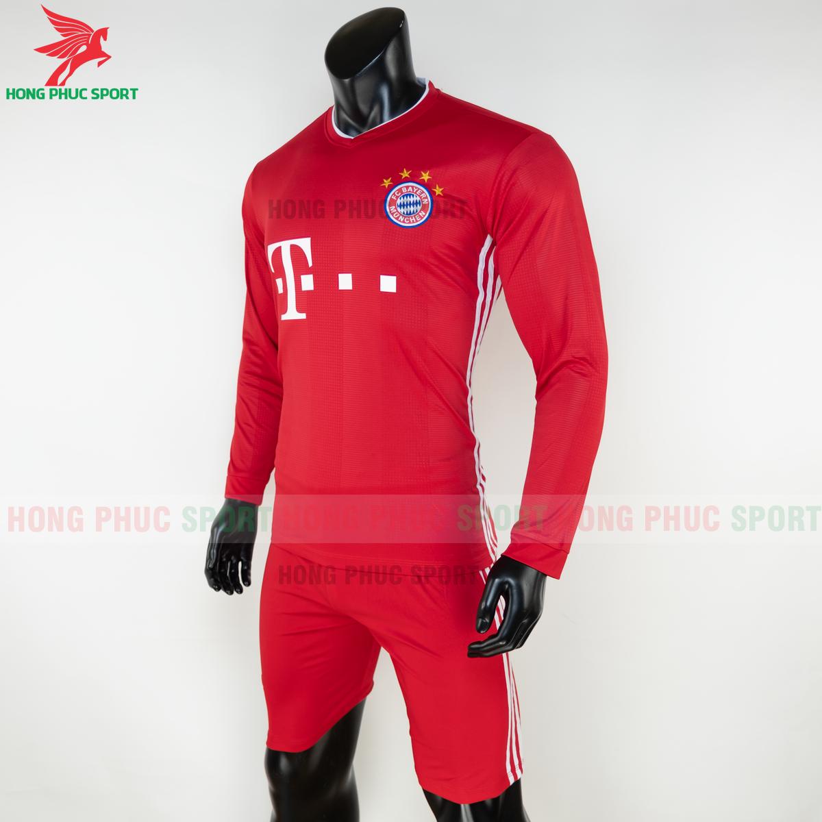 Áo đấu dài tay Bayern Munich 2020 2021 sân nhà (trái)