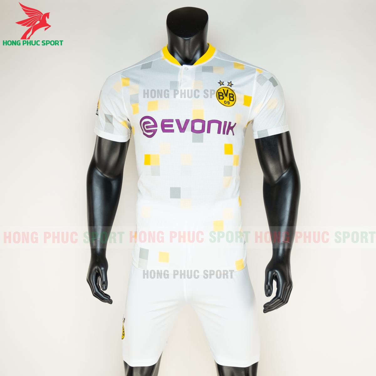Áo đá banhDortmund đấu cup 2020 2021 sân khách (trước)
