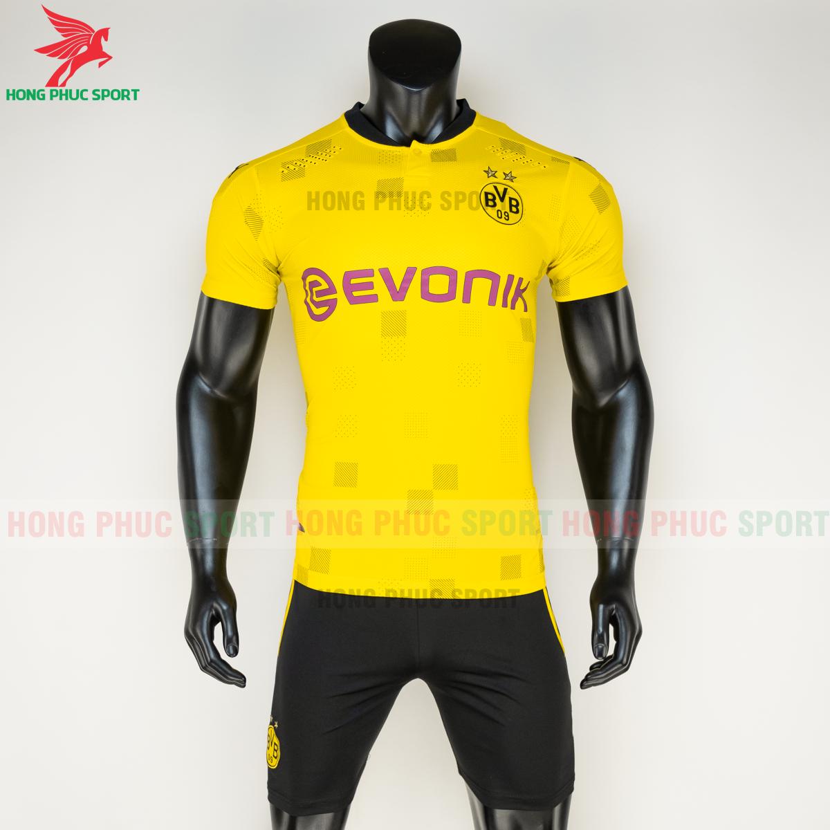Áo đá banhDortmund đấu cup 2020 2021 sân nhà(trước)