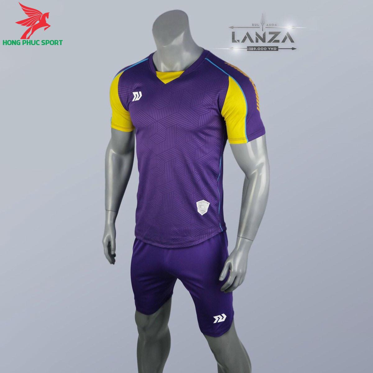 Áo đá banh không logo Bulbal Lanza 2021 màu Tím