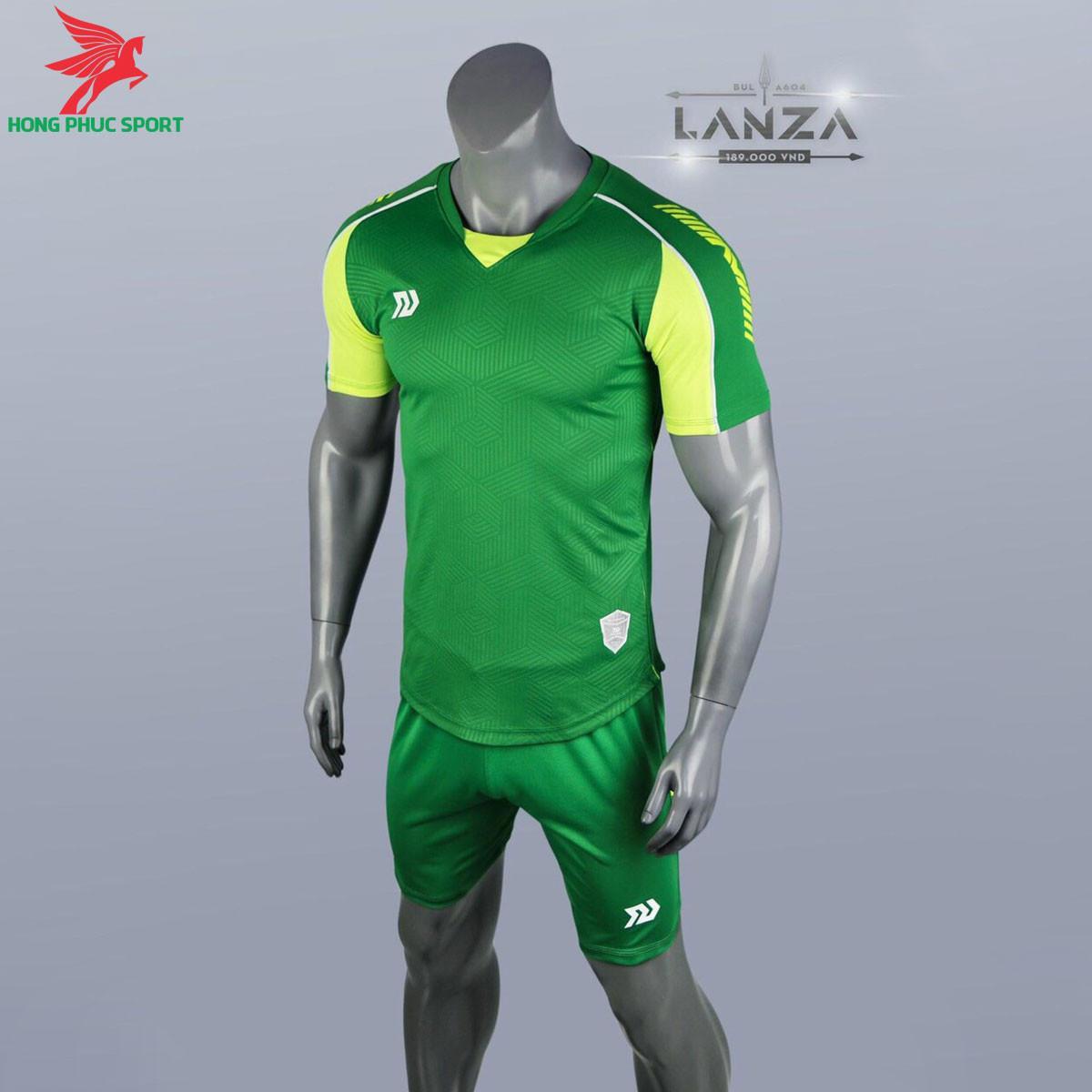 Áo đá banh không logo Bulbal Lanza 2021 màu Xanh chuối