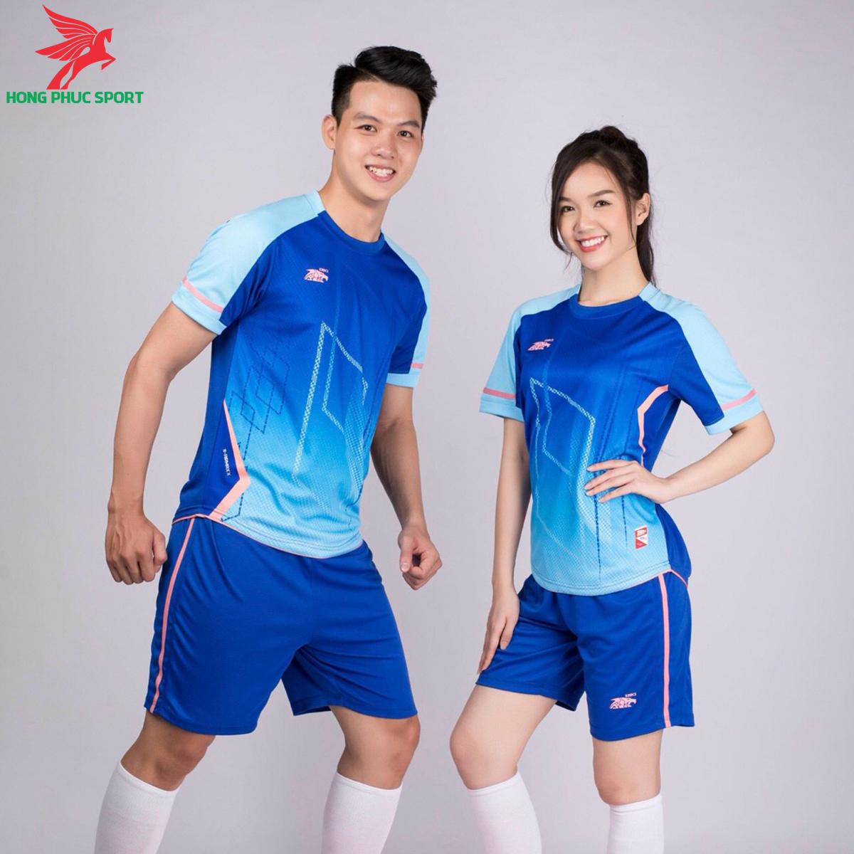 áo bóng đá không logo Riki Airmaxx Xanh bích