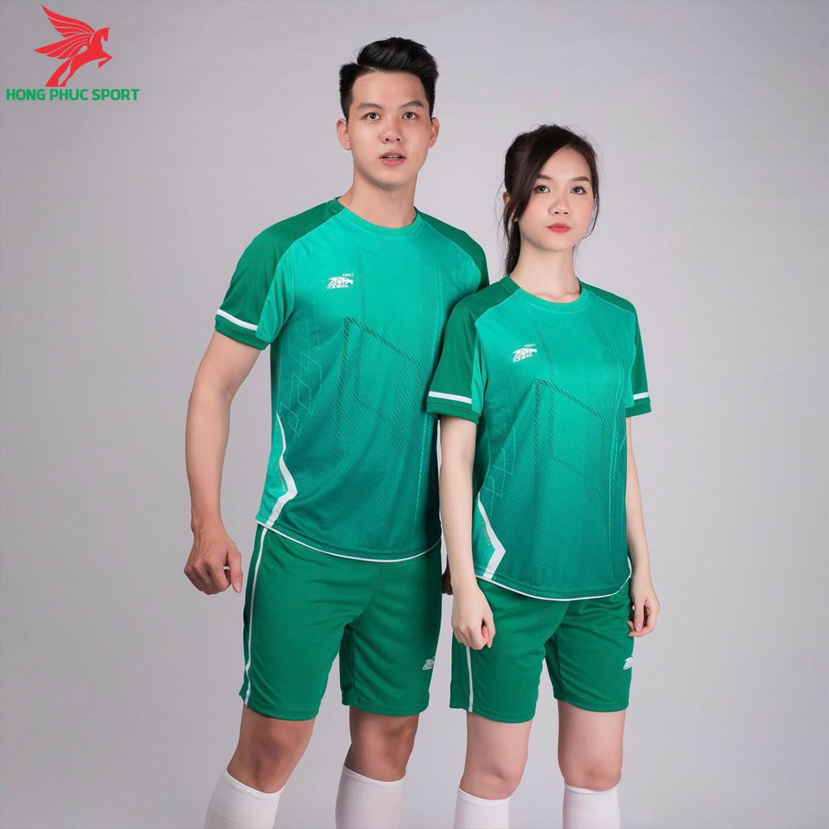 áo bóng đá không logo Riki Airmaxx Ngọc rêu
