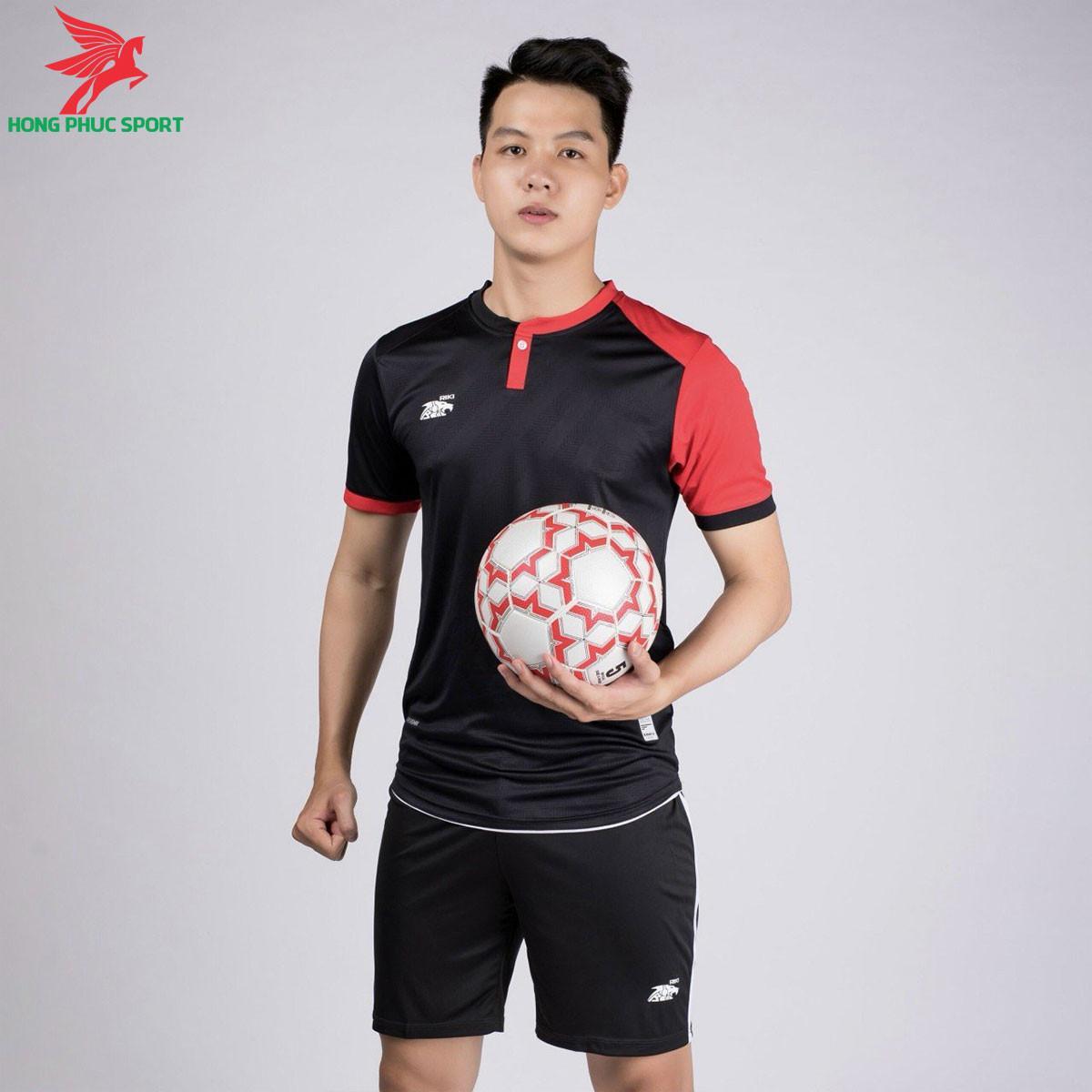 áo bóng đá không logo Riki Lostoran Đen
