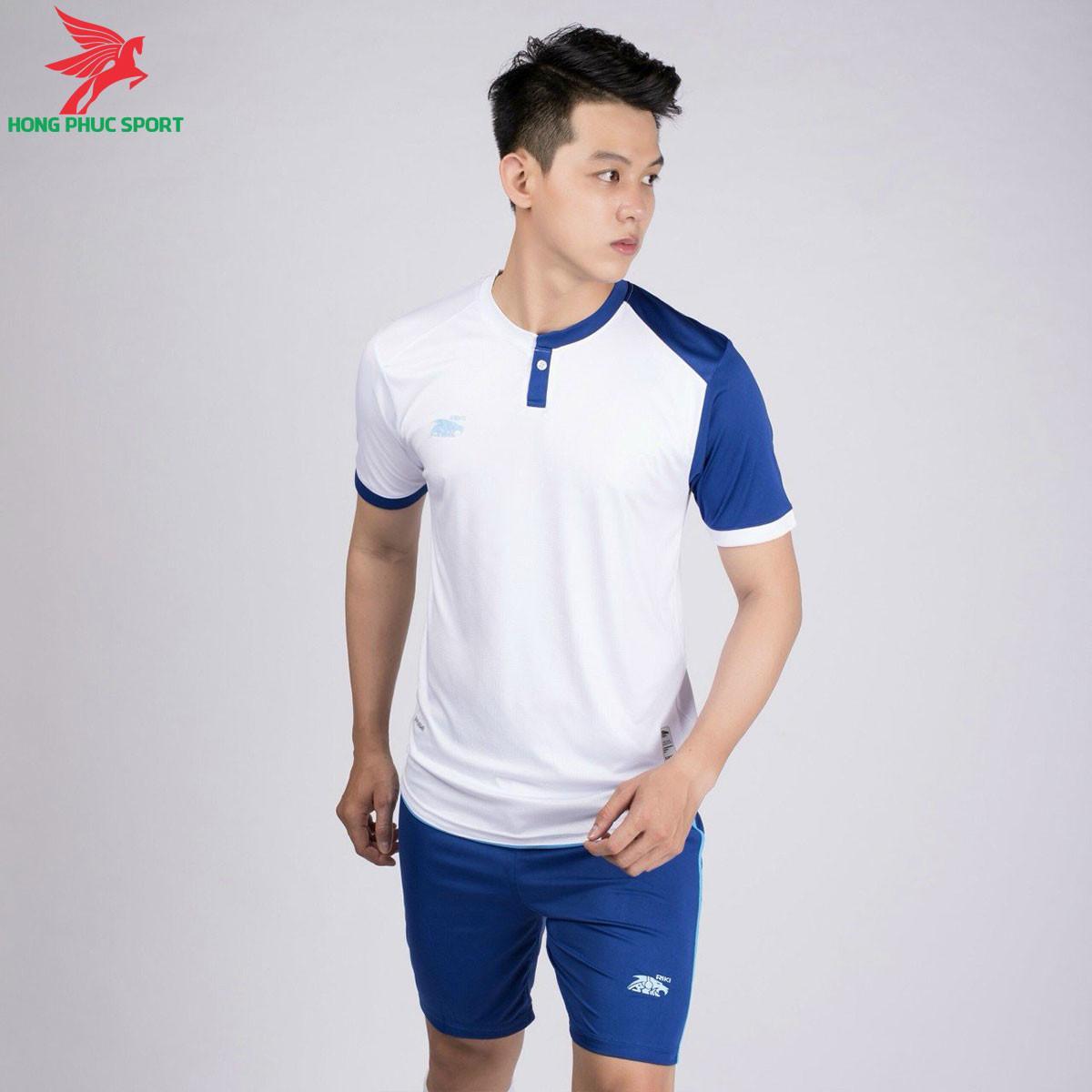 áo bóng đá không logo Riki Lostoran Trắng