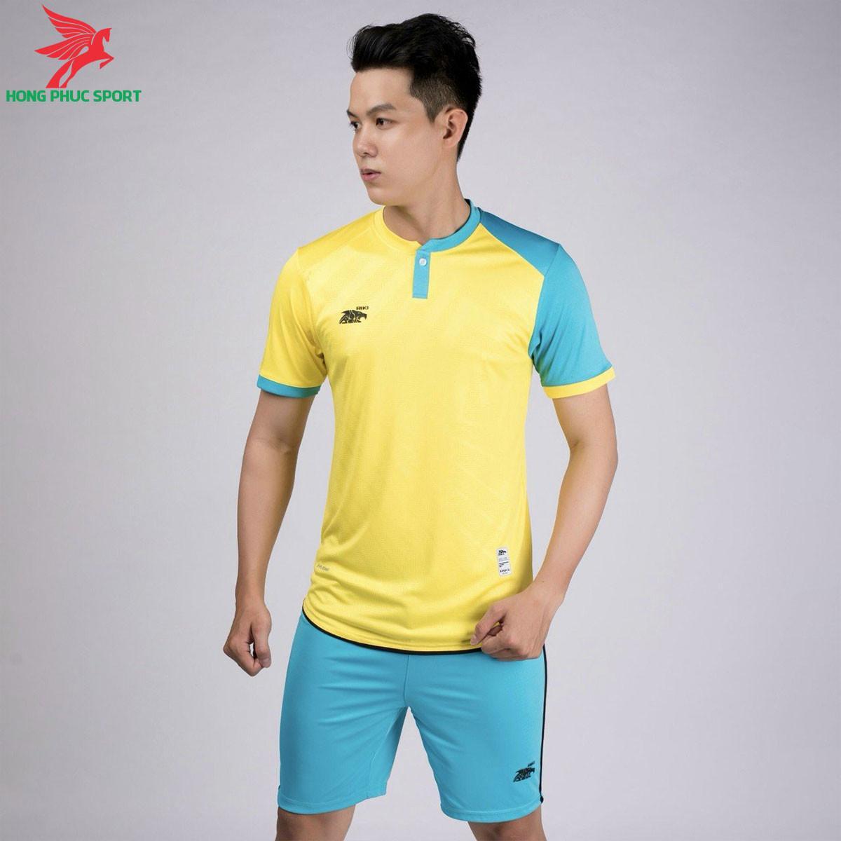 áo bóng đá không logo Riki Lostoran Vàng