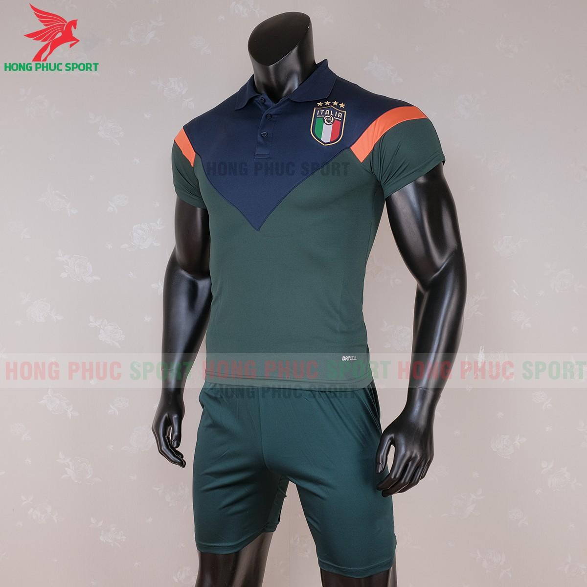 Áo Polo tuyển Italia 2020 (trái)