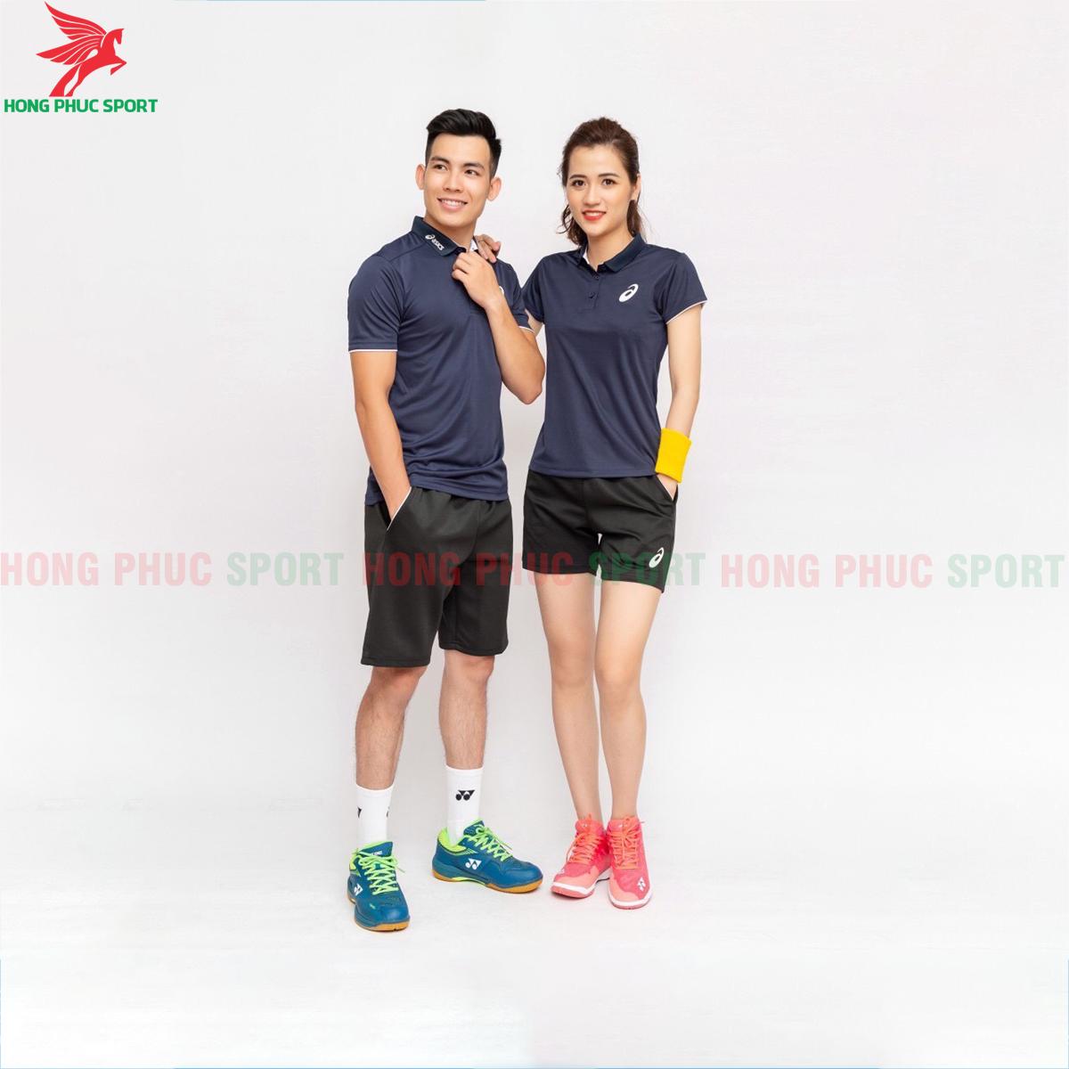 Quần áo tennis Asic 2020 màu xanh đậm