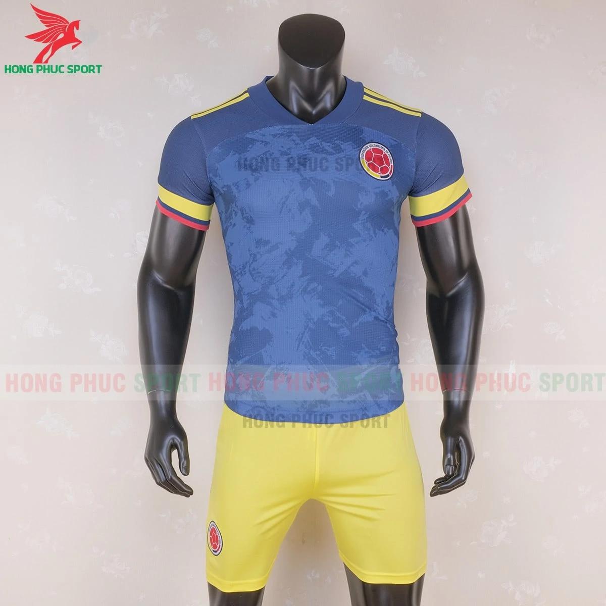 Áo đấu tuyển Colombia 2020 sân khách (trước)