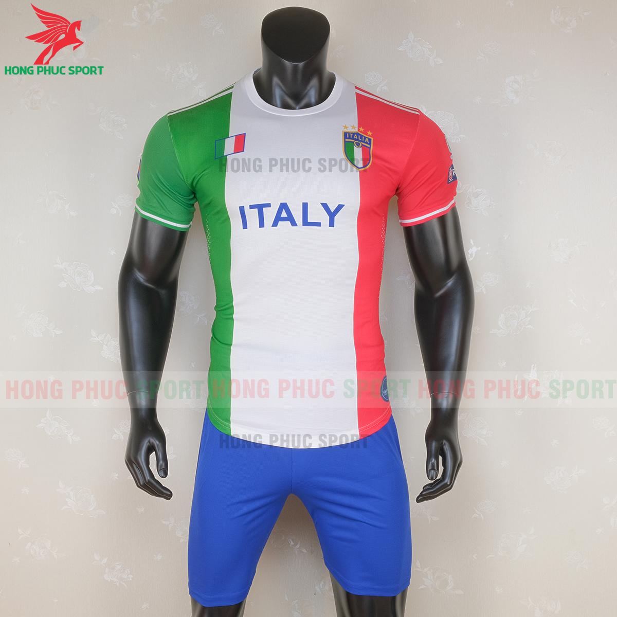 Áo đấu tuyển Italia 2020 phiên bản fan (trước)