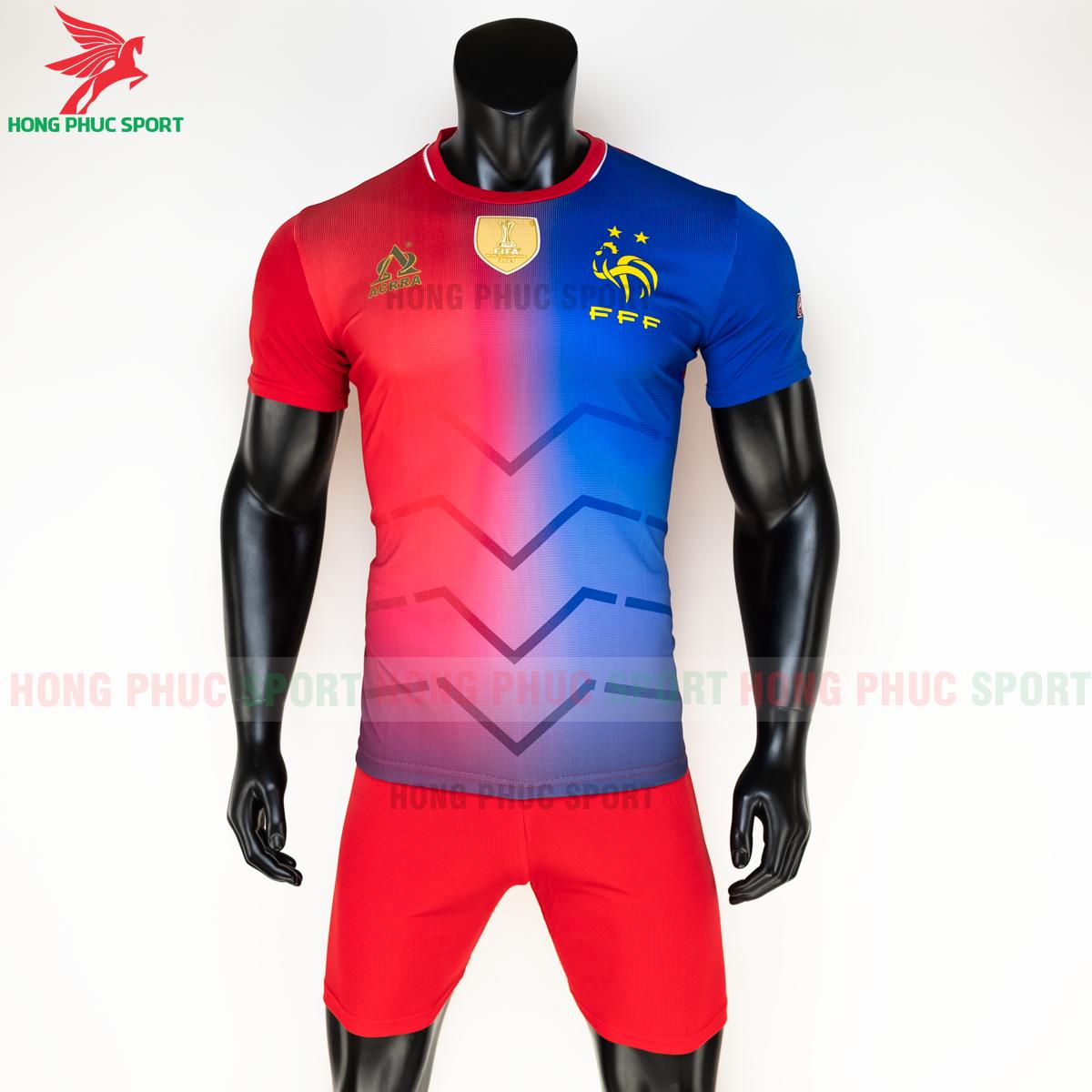 Áo tuyển Pháp 2020 phiên bản Fan hàng dệt (trước)