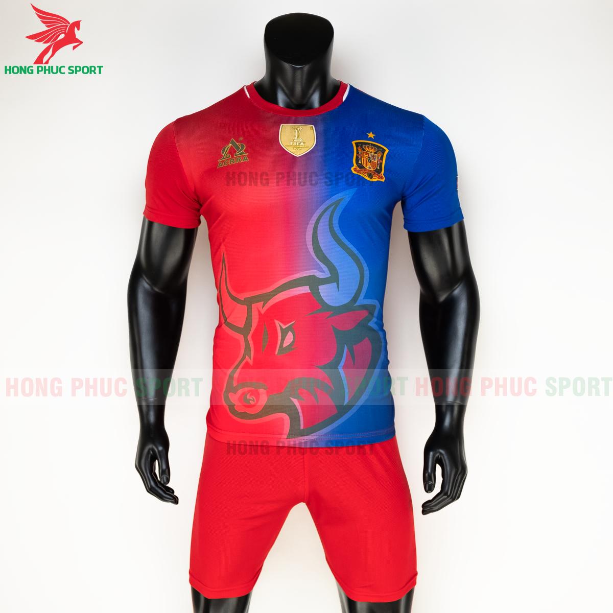 Áo tuyển Tây Ban Nha 2020 phiên bản Fan hàng dệt (trước)