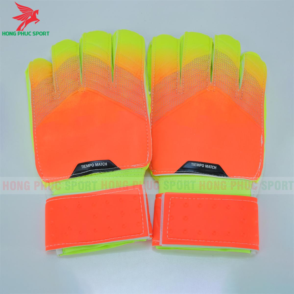 Găng tay thủ môn Nike tiempo màu cam