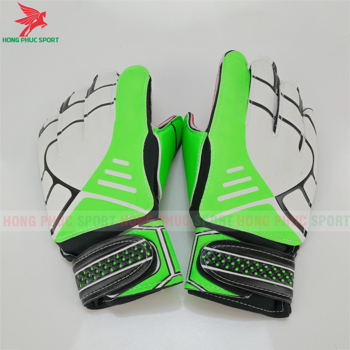 Găng tay thủ môn Adidas màu xanh lá (mẫu 2)