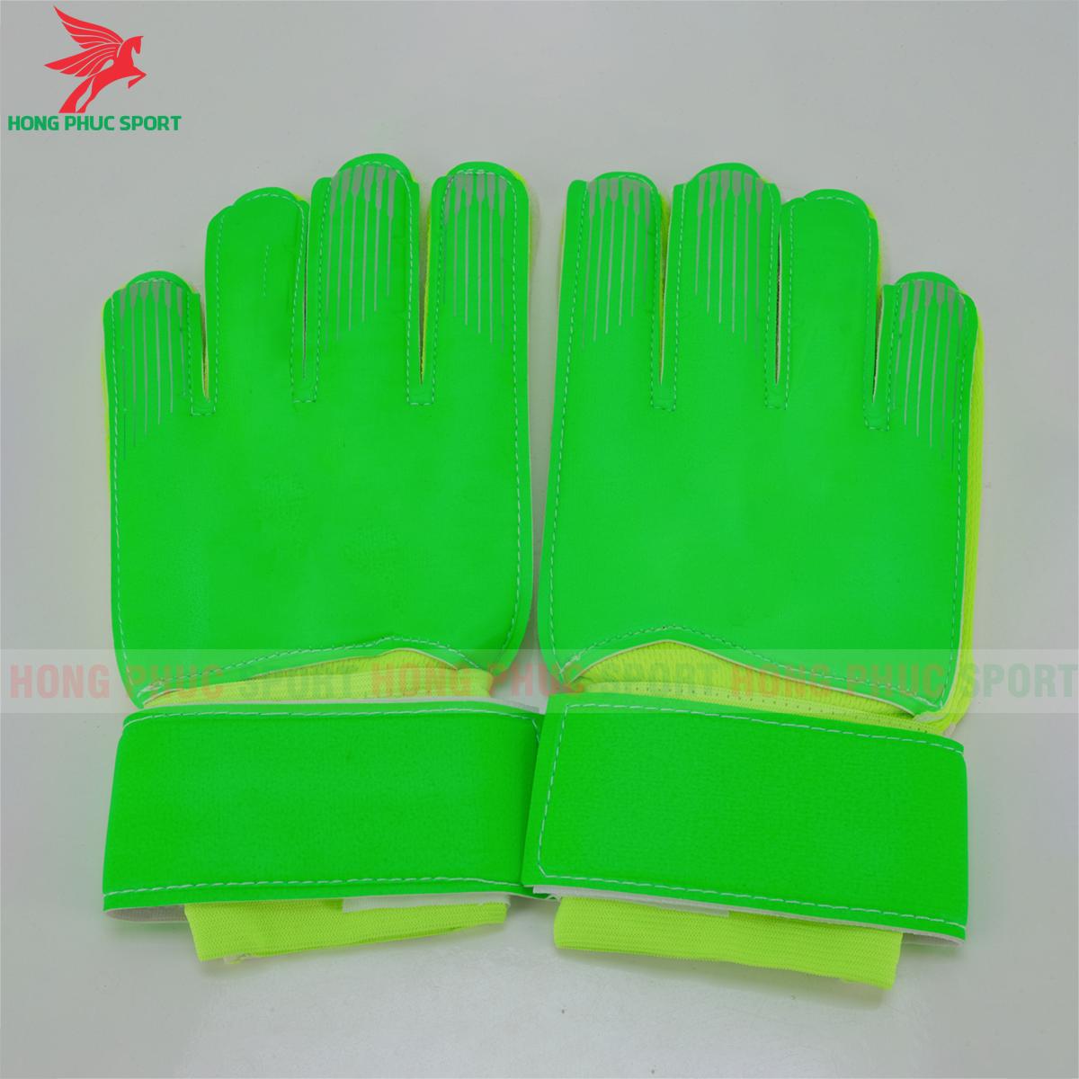 Găng tay thủ môn Nike màu xanh lá