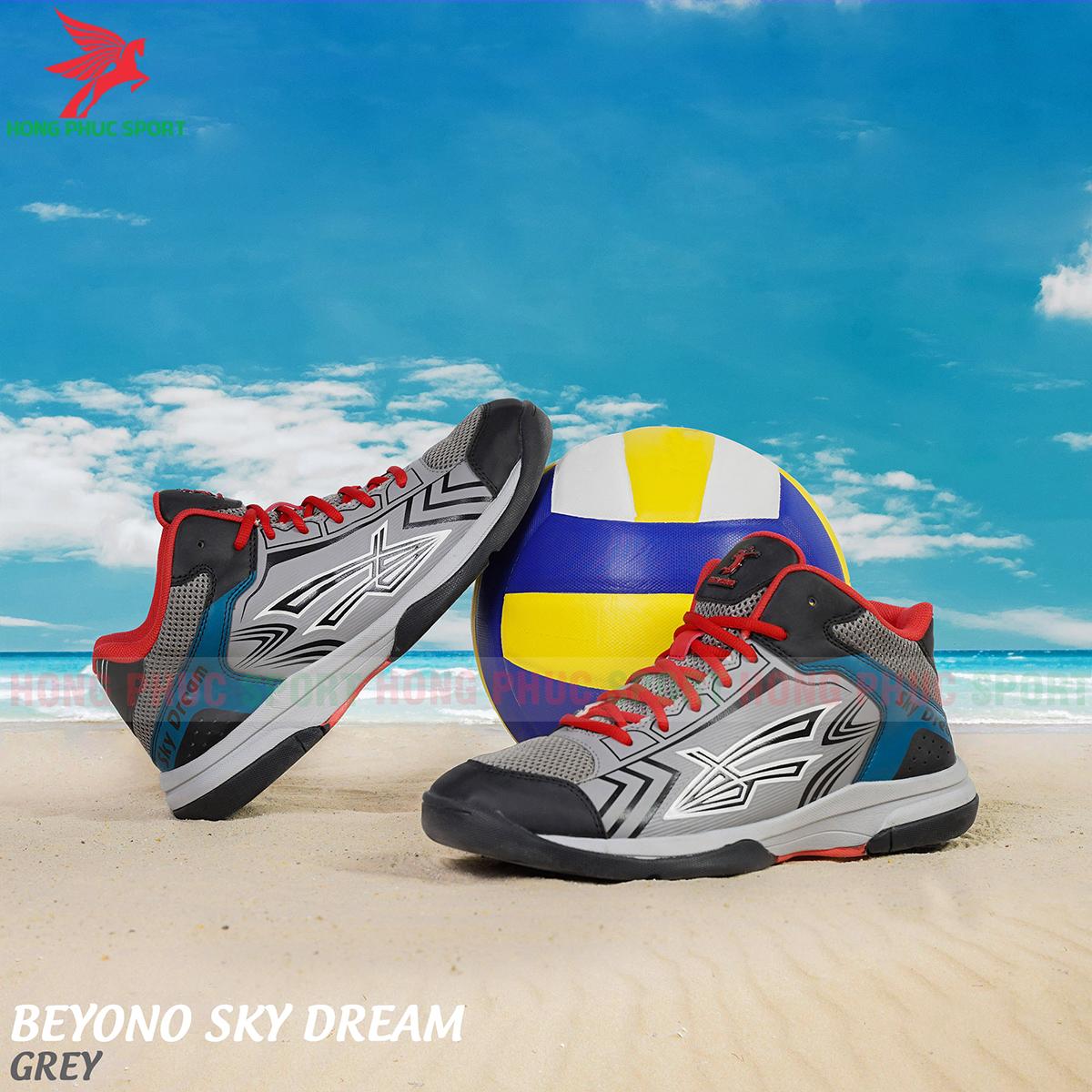 Giày bóng chuyền Beyono Sky dream màu xám