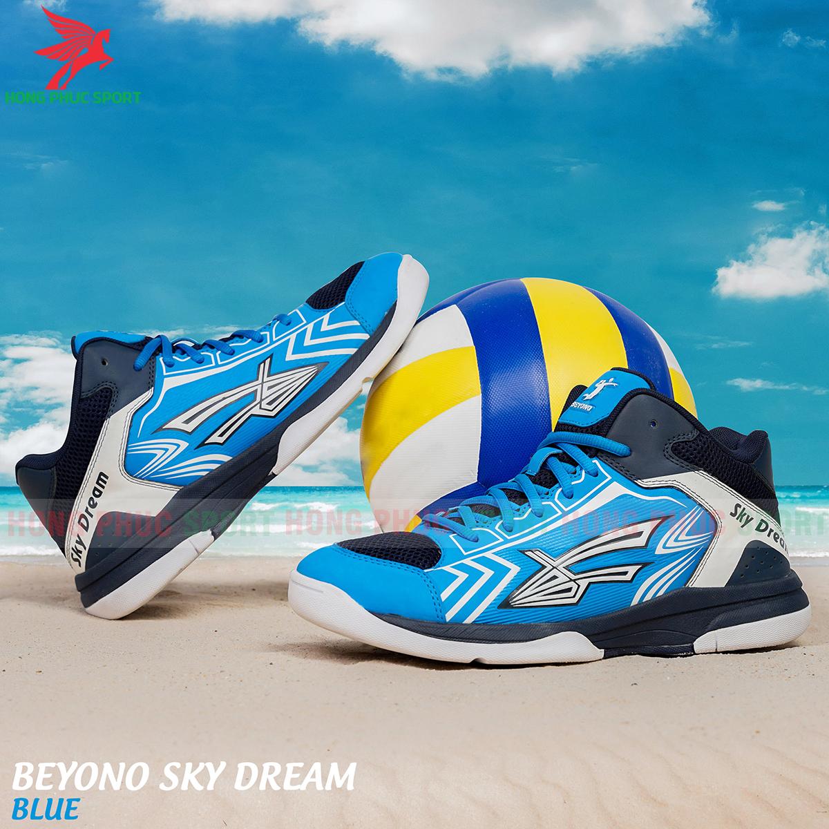 Giày bóng chuyền Beyono Sky dream màu xanh