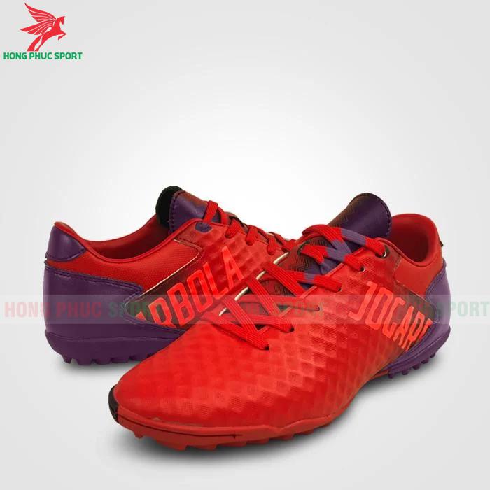 Giày Jogarbola 9019 sân cỏ nhân tạo đỏ