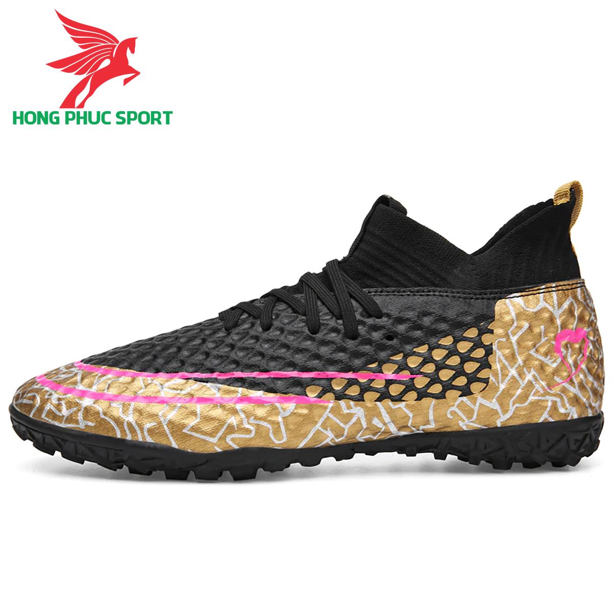 Giày đá banh cổ cao Future 5.1 TF màu đen