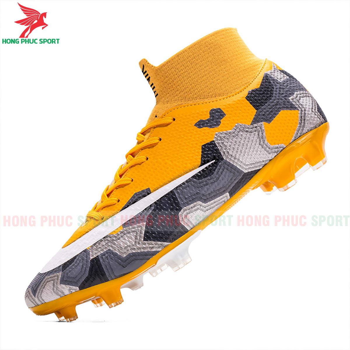 Giày đá banh Superfly VII Mbappe V2 2020 FG mẫu 1 màu vàng (3)