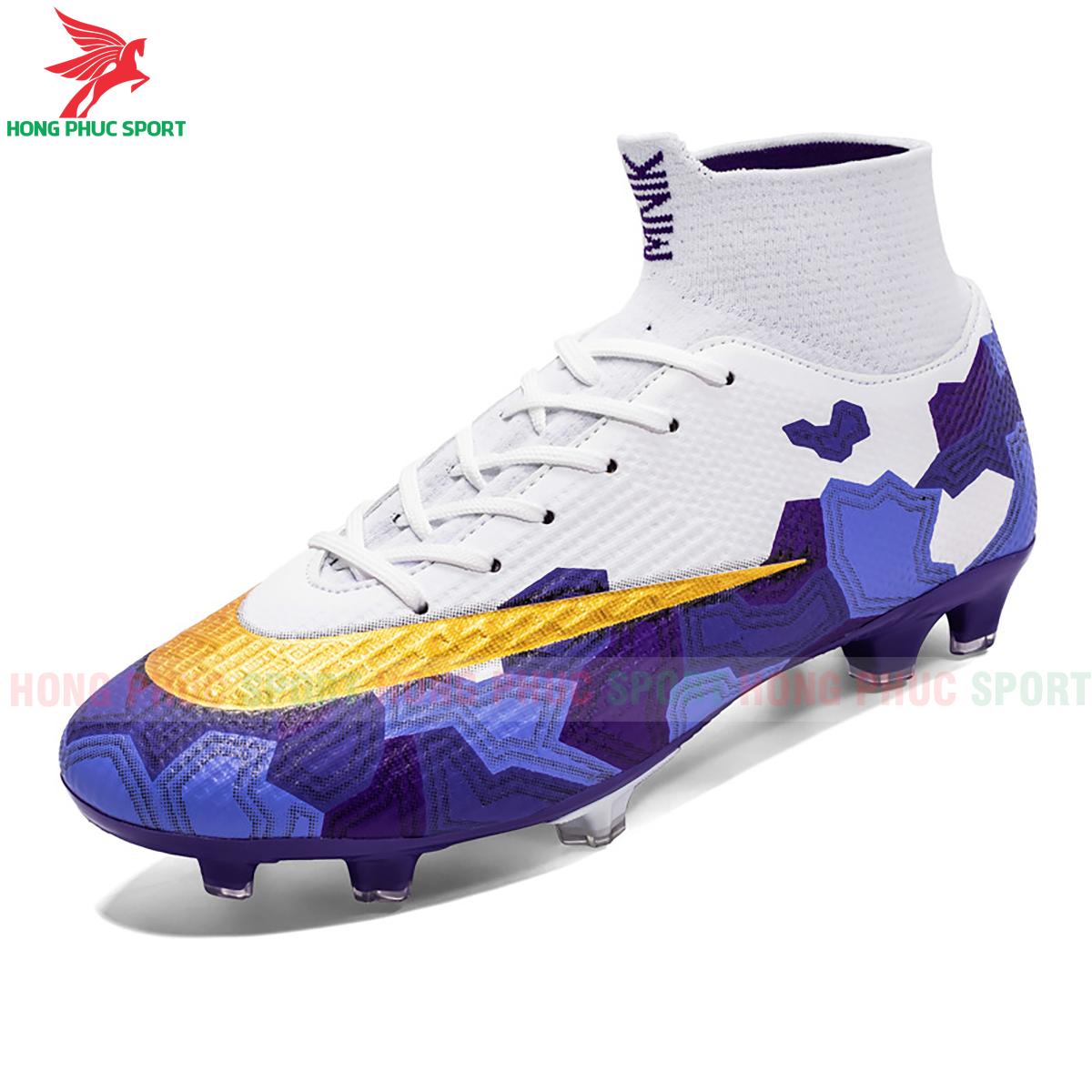 Giày đá banh Superfly VII Mbappe V2 2020 FG mẫu 3 màu xanh dương