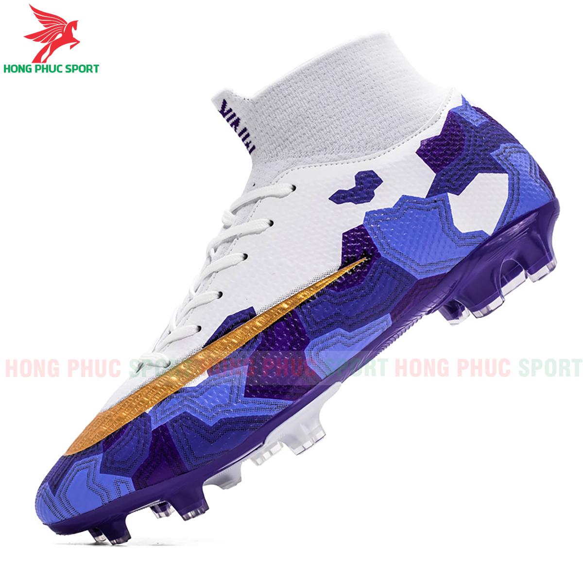 Giày đá banh Superfly VII Mbappe V2 2020 FG mẫu 3 màu xanh dương (2)
