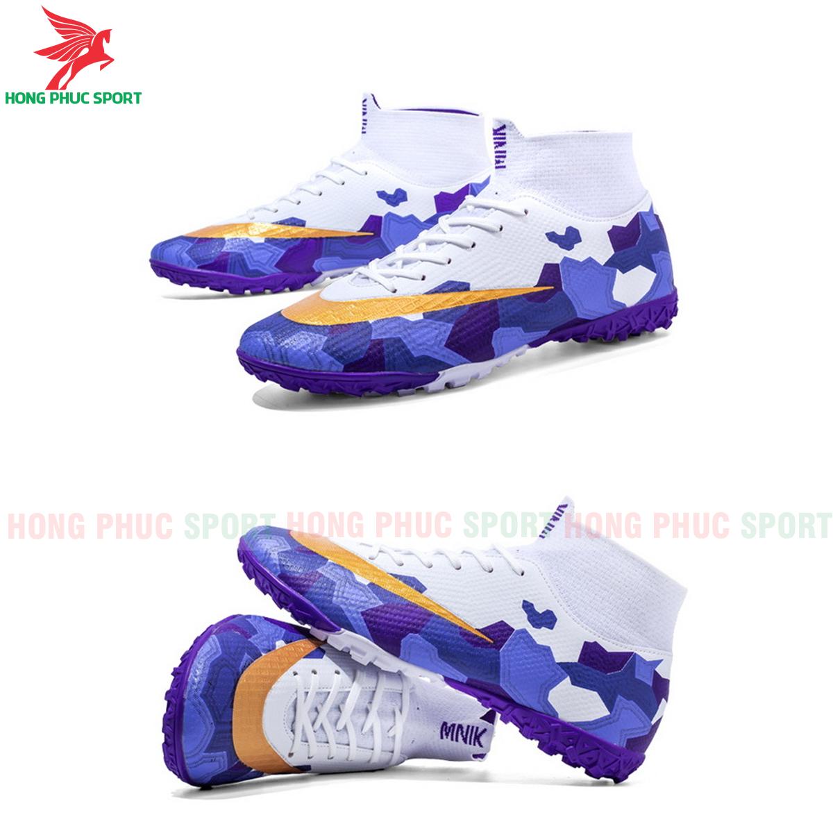 Giày đá banh Superfly VII Mbappe V2 2020 TF mẫu 3 màu xanh dương (1)