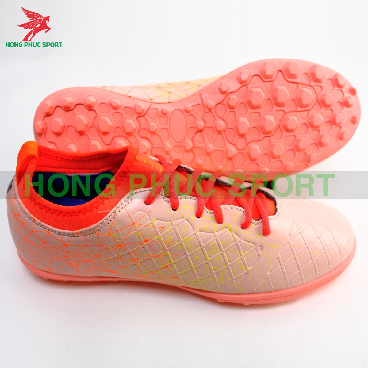 Giày đá banh Hồng Phúc Sport Premium 21.1 màu Hồng cam