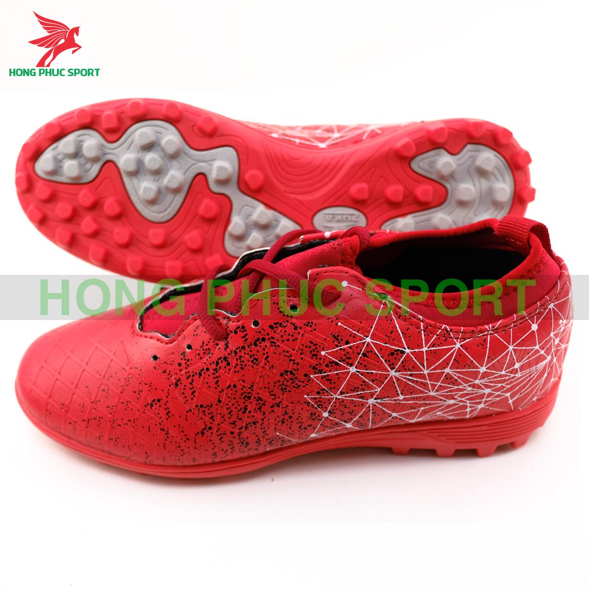 Giày đá banh Hồng Phúc Sport Premium 21.3màu đỏ