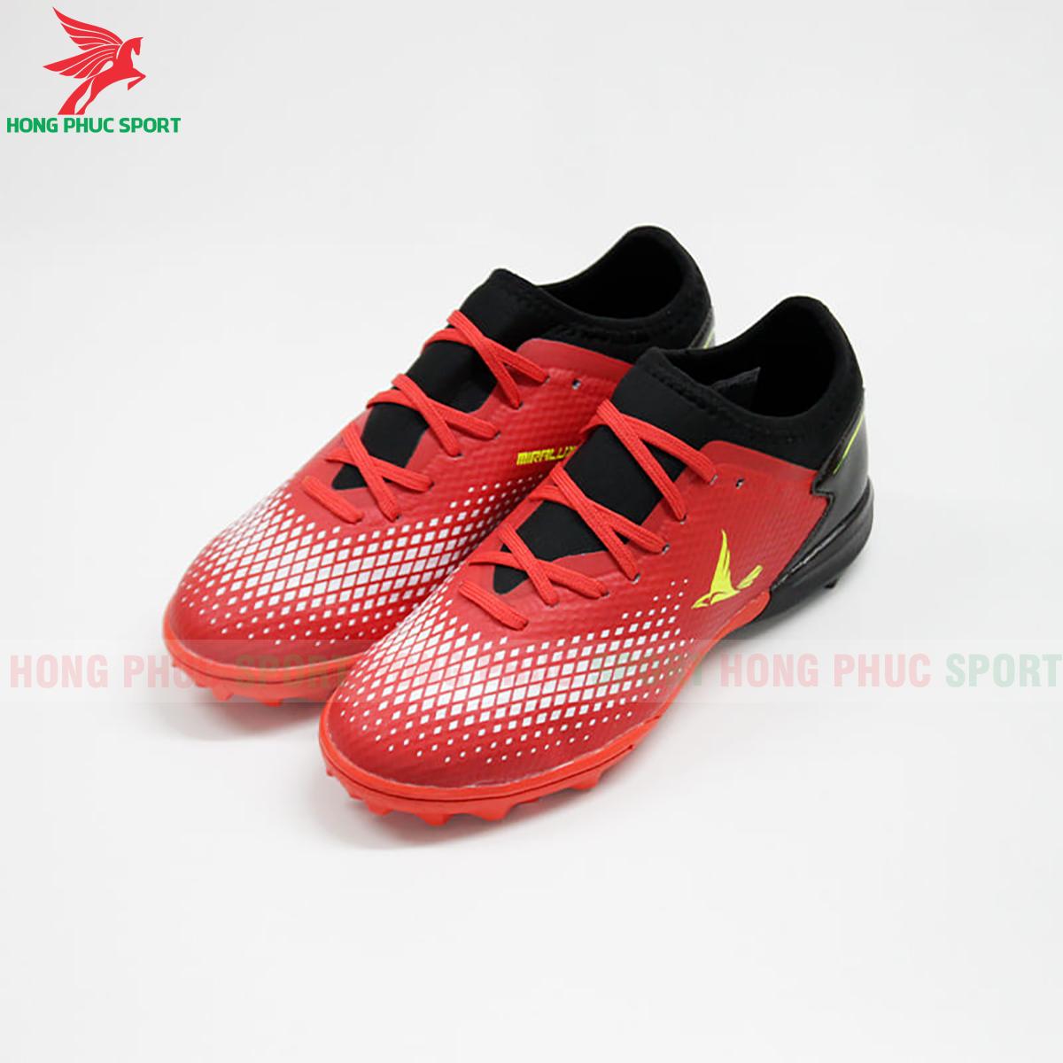 Giày Mira Lux 20.3 sân cỏ nhân tạo đỏ phối đen