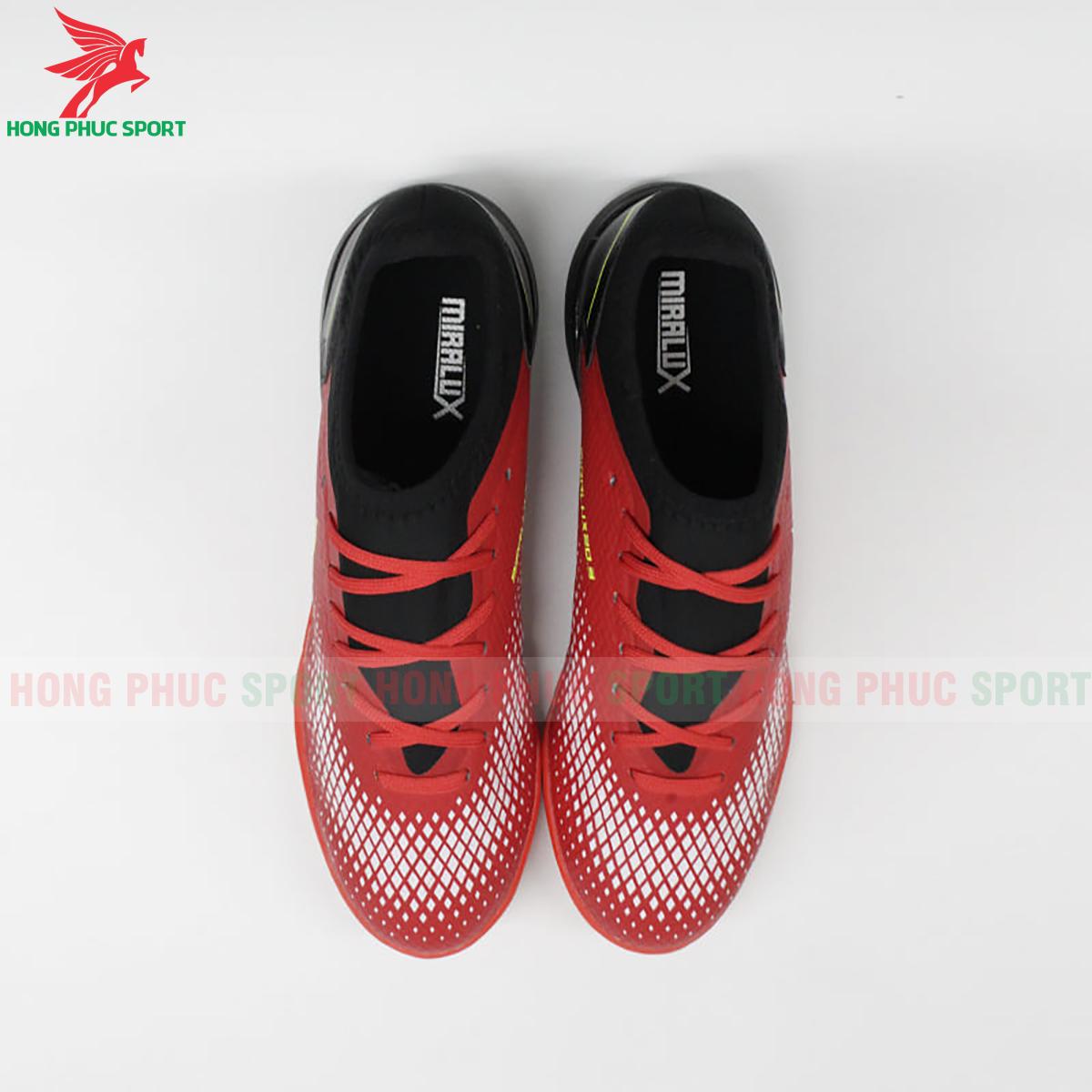 Giày Mira Lux 20.3 sân cỏ nhân tạo đỏ phối đen (trước)