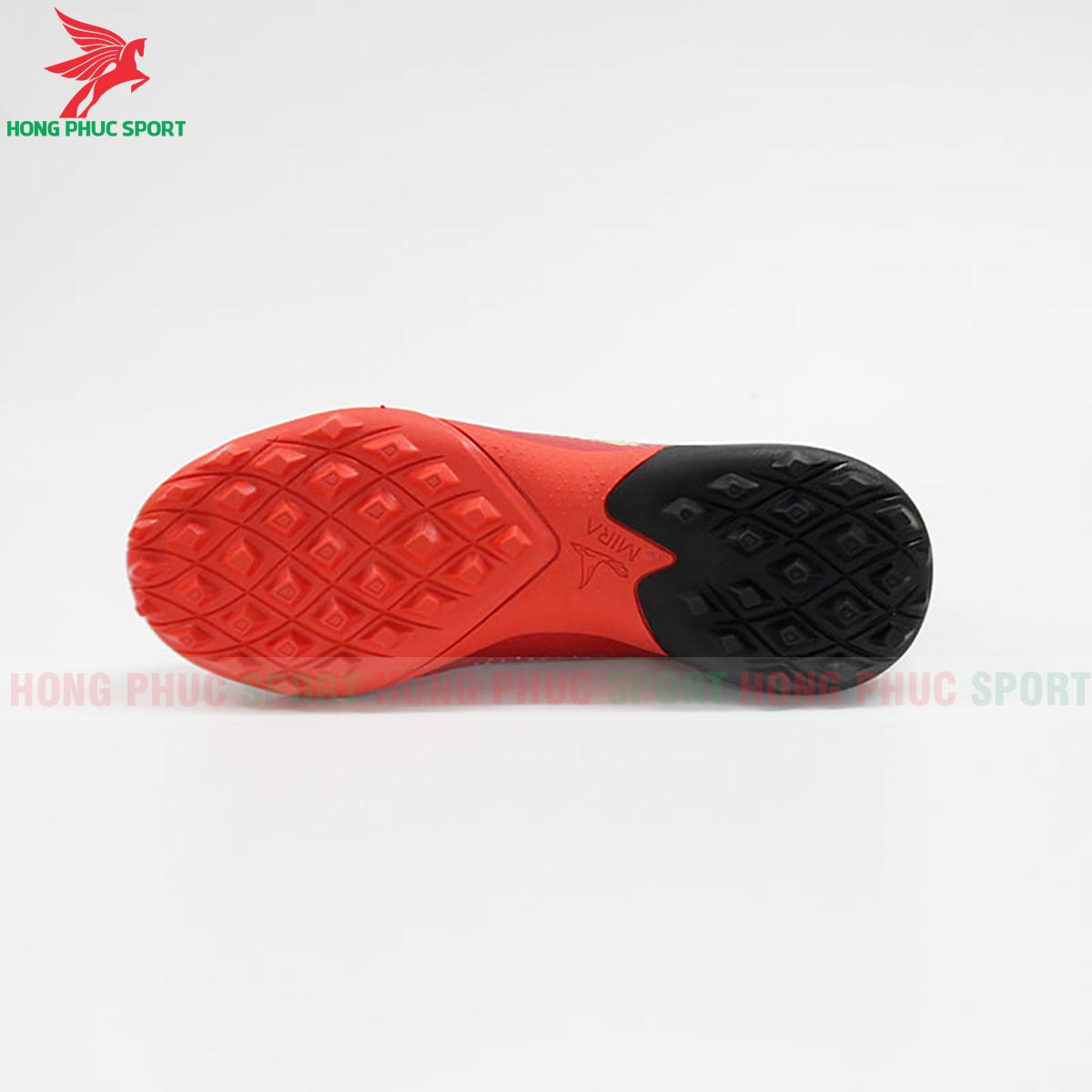 Giày Mira Lux 20.3 sân cỏ nhân tạo đỏ phối đen (đế)