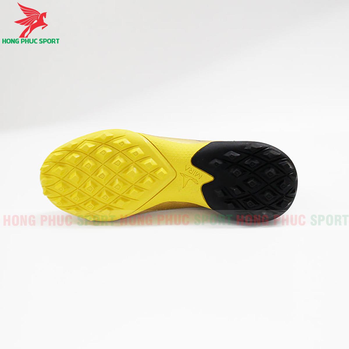 Giày Mira Lux 20.3 sân cỏ nhân tạo vàng phối đen (đế)