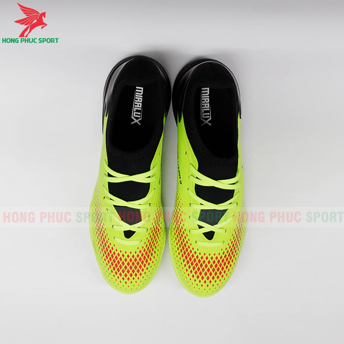 Giày Mira Lux 20.3 sân cỏ nhân tạo xanh chuối phối đen (trước)