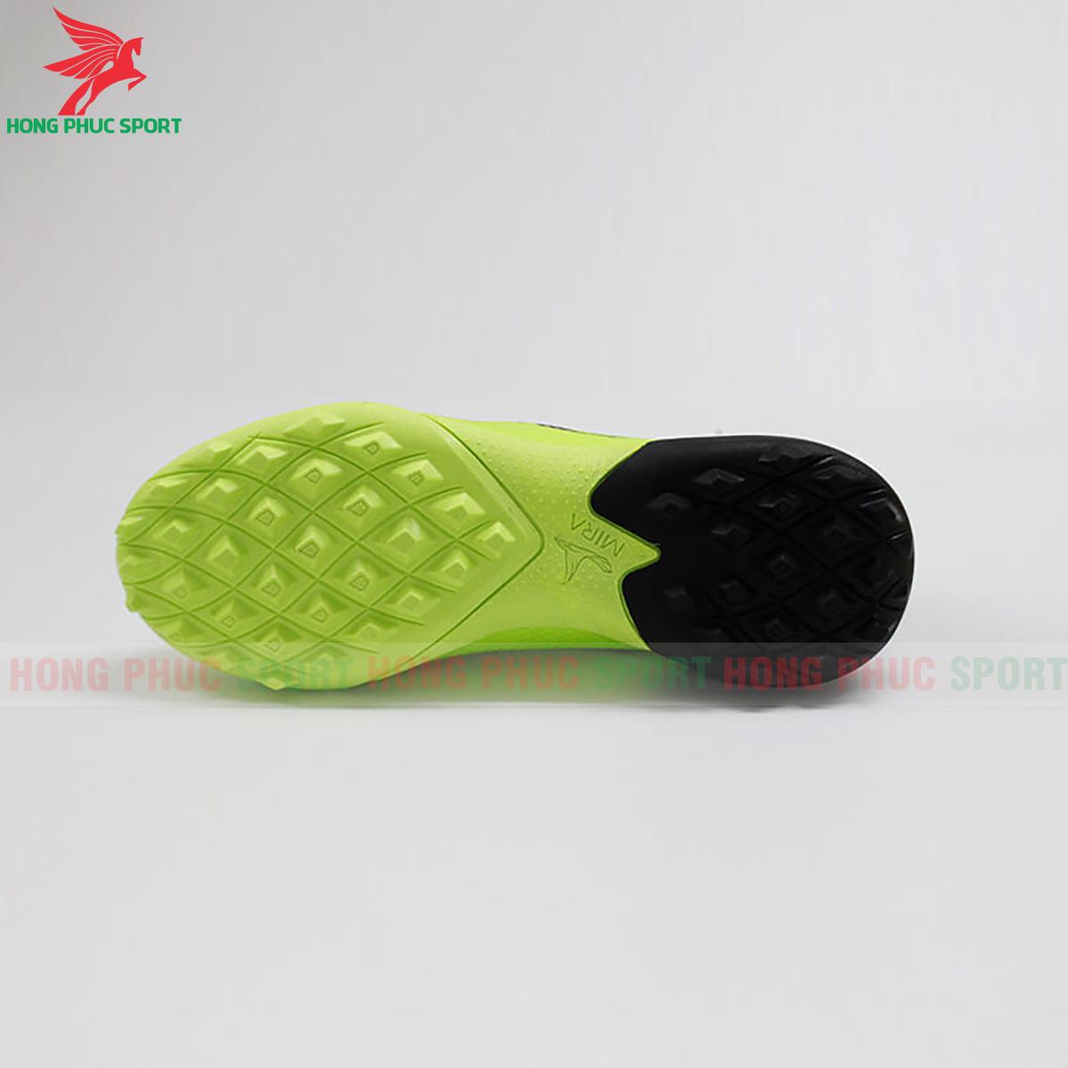 Giày Mira Lux 20.3 sân cỏ nhân tạo xanh chuối phối đen (đế)