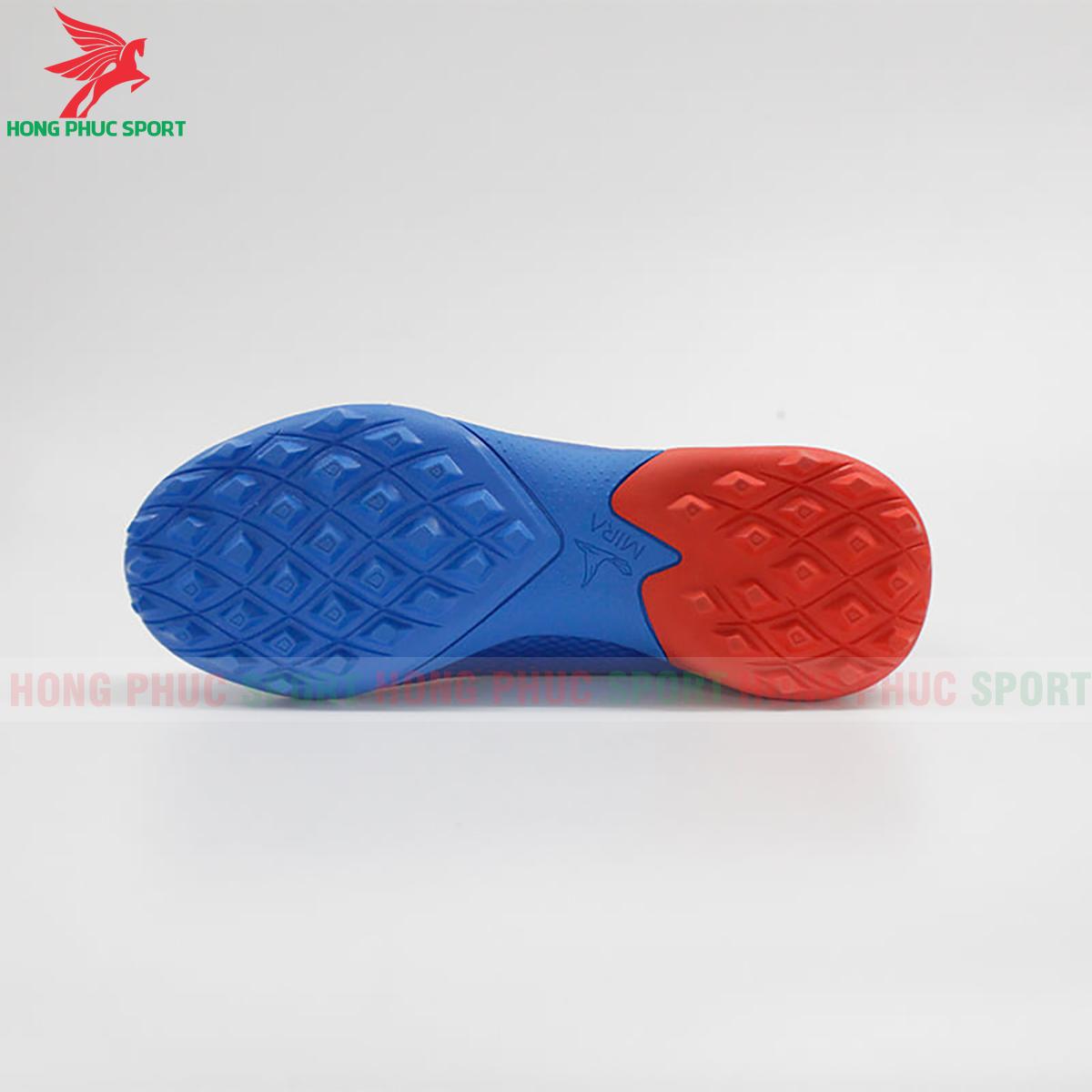 Giày Mira Lux 20.3 sân cỏ nhân tạo xanh dương phối đỏ (đế)
