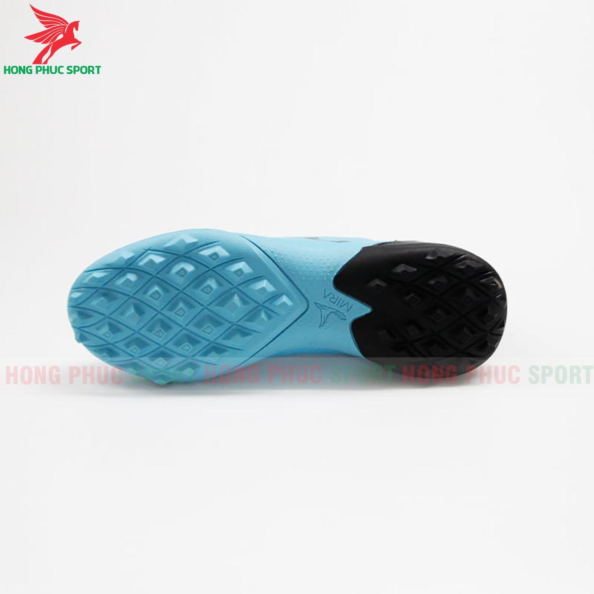 Giày Mira Lux 20.3 sân cỏ nhân tạo xanh ngọc phối đen (đế))
