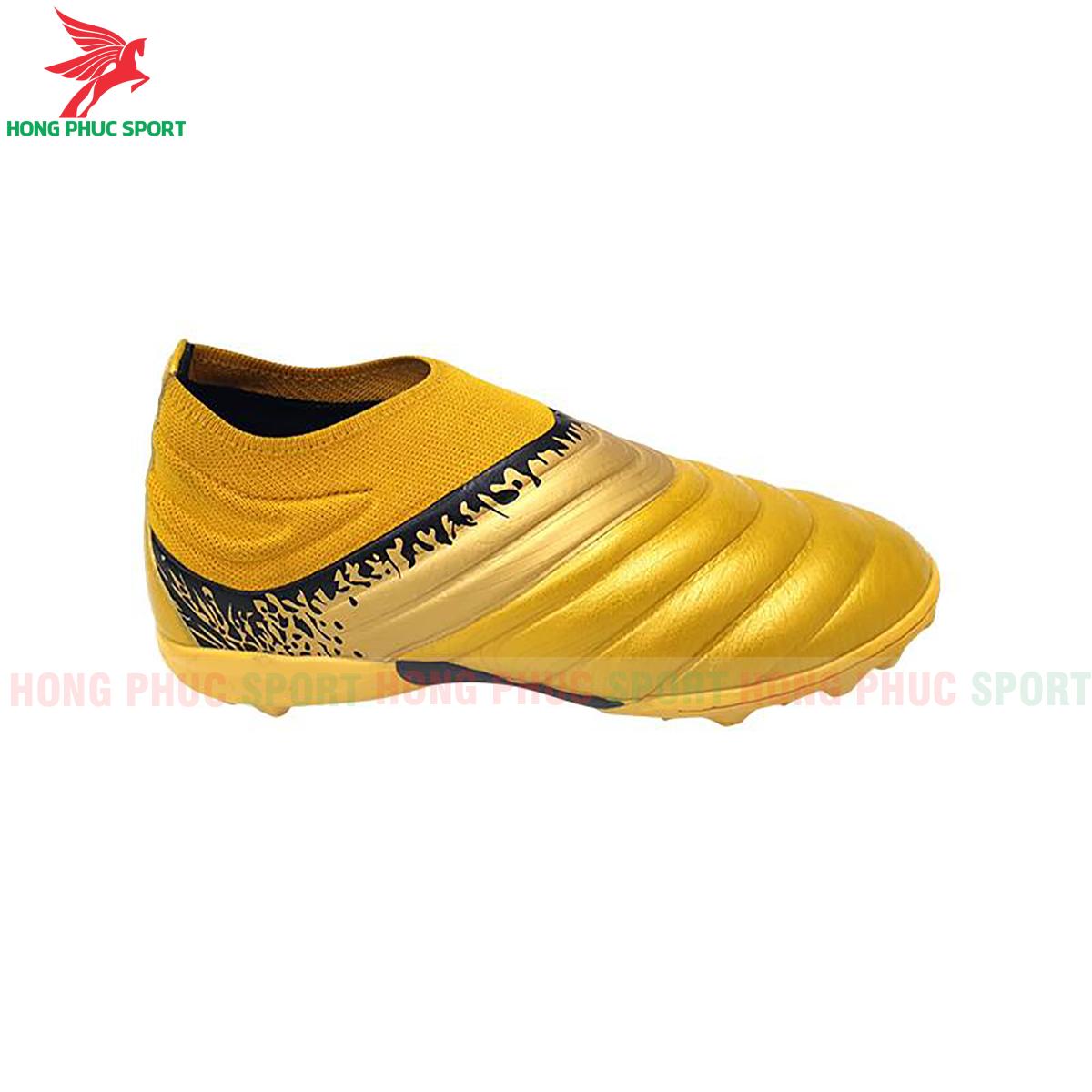 Giày Mira Winner sân cỏ nhân tạo màu vàng (phải)