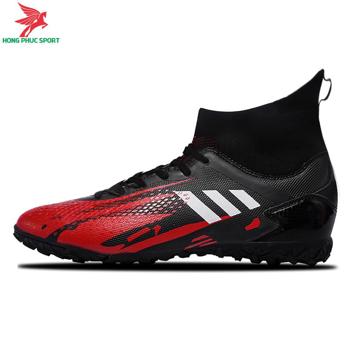 Giày đá banh cổcao Predator 20.3 đế TF màu đỏ đen
