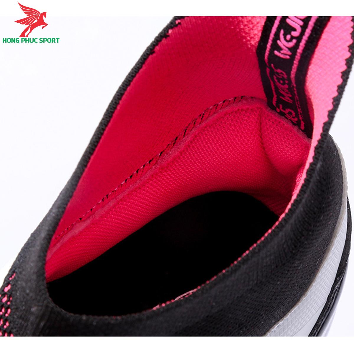 Giày đá banh cố cao Predator 20.3 đế FG màu trắng hồng (3)
